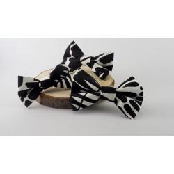 Černobílý motýlek